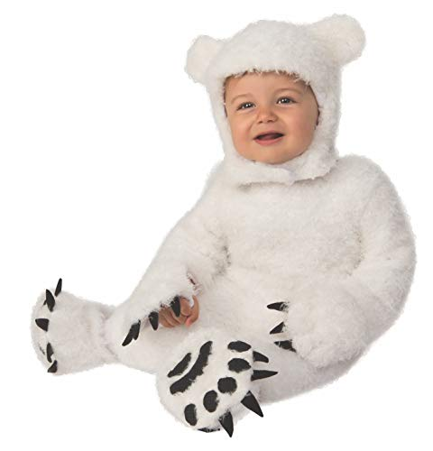 Rubie's Kid's Opus Collection Lil Cuties Polar Bear Cub Costume Baby Costume, As Shown, Toddler