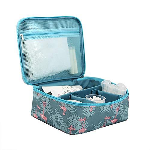 Lovemay Sacs à main pliables de voyage de Le sac à lessive cosmétique de lavage des femmes 24cm * 19cm * 10cm.
