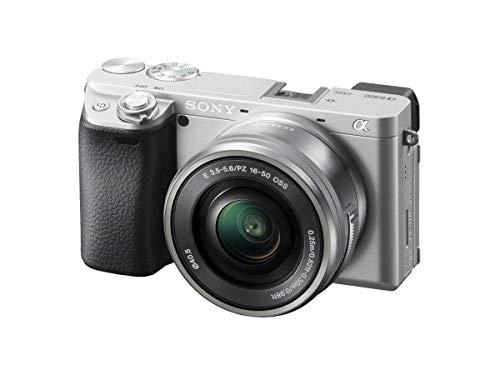 Sony Alpha a6400 Cámara sin espejo: Cámara digital compacta APS-C con lente intercambiable y lente de 16-50 mm - ILCE-6400L/S (modelo internacional)