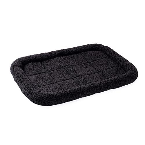 Almohadilla para mascotas 5 Tamaño para perros grandes cama Super Soft Cajas de cojín para perros y mascotas Cama de mascotas Cama para mascotas en Fleece Máquina lavable ( Color : GREY , Size : XL )