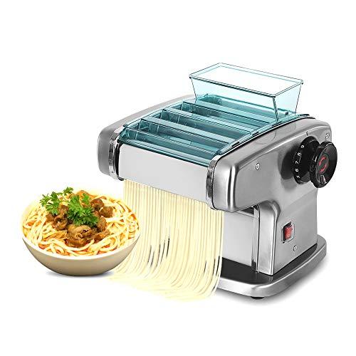 ManWang Máquina Eléctrica para Hacer Pasta y Fideos, 9 velocidades, 0.1-4mm Espesor...