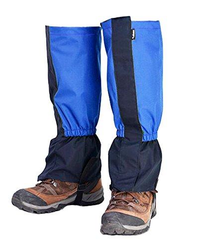 Black Temptation Randonnée/Escalade/Camping/Ski Chaussures Gaiter pour Adultes- Bleu