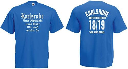 Karlsruhe Herren Aufstiegstour T-Shirt Aufsteiger 2019