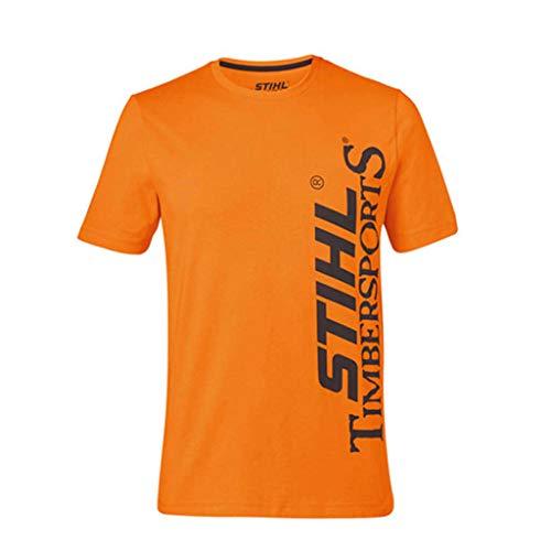 Stihl Timbersports - Camiseta de manga corta, color negro