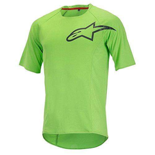 Alpinestar Cycling T-Shirt Manica Corta Rover Verde/Grigio S