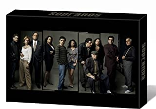 The Sopranos - Complete HBO Season 1-6 - Deluxe Edition [DVD] (B001DWEYW4) | Amazon price tracker / tracking, Amazon price history charts, Amazon price watches, Amazon price drop alerts