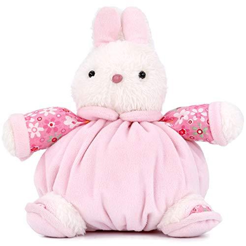 Bunny Stuffed Animal Super Soft Plush Pink Rabbit Birthday Gift for Kids Child Holiday Present