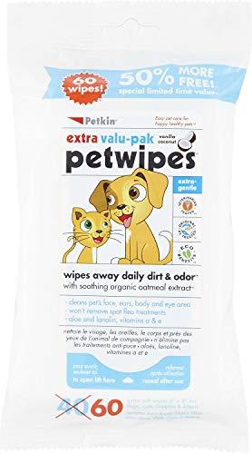 Petkin Eco pet Wipes