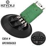 HZYCKJ Resistencia del motor del ventilador del calentador de control del ventilador del radiador del aire acondicionado OEM# 6Q0959263A 6RD959263