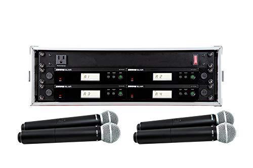 Shure BLX24R/SM58 4 Pack