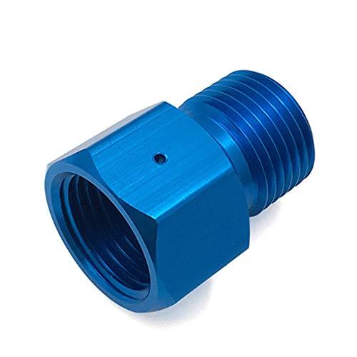 RK-HYTQWR Zweiwege-Co2-Paintball-Tank Cga 320 Gewinde-Blau-Adapter Für G1 / 2-14-Gewinde, Zweiwege-G1 / 2-Blau-Adapter, Blau