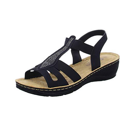 Alyssa P6629-2 Damen Komfort Sandalette, Größe 36