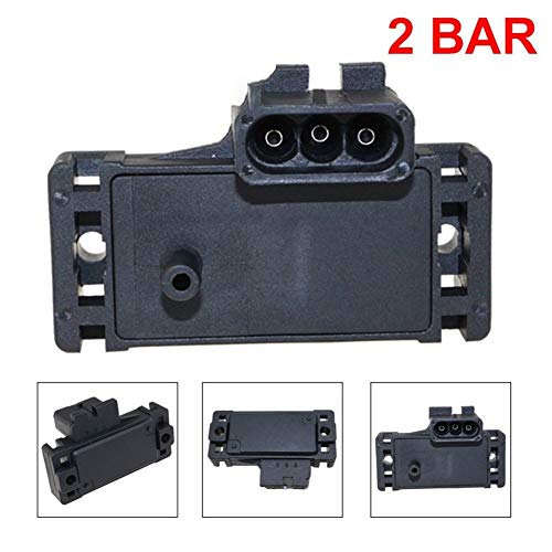 Sensor 2 bar (2 bar) del sensor MAP Turbo Boost for Opel en forma for el Vauxhall Movano en forma for el Monterey Omega un ajuste for ISUZU 16.040.609 12.569.241 1.238.786