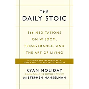 Customer reviews The Daily Stoic 366 Meditations on Wisdom, Perseverance, and the Art of Living  Featuring new translations of Seneca, Epictetus, and Marcus Aurelius