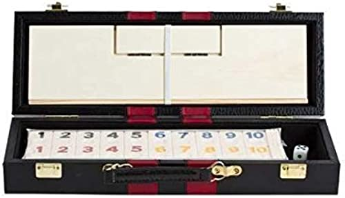 Deluxe Rummy with Wooden Racks in Attache Case by Fame