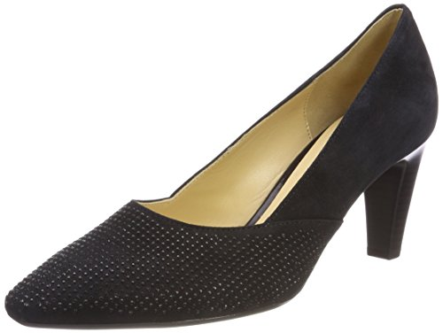 Gabor Shoes Damen Basic Pumps, Blau (Pazifik), 39 EU