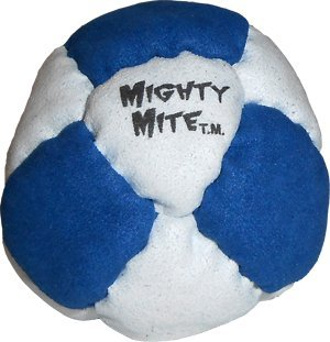 Dirtbag Mighty Mite Hacky Sack Footbag - Blue/White