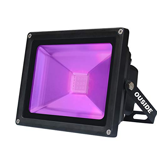 UV Luz negra LED, 10W LED decorativa violeta Etapa,IP65