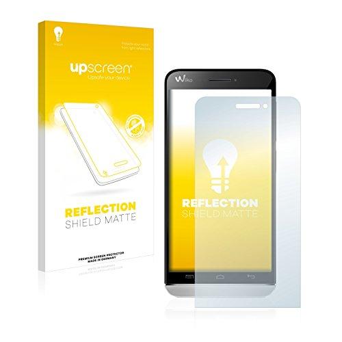 upscreen Entspiegelungs-Schutzfolie kompatibel mit Wiko Wax 4G – Anti-Reflex Bildschirmschutz-Folie Matt
