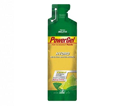 Gel Energético Power Gel HydroMax PowerBar 24 x 67ml Mojito y Cafeína