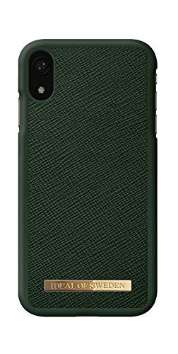 IDEAL OF SWEDEN Handyhülle für iPhone XR (Saffiano) (Green)