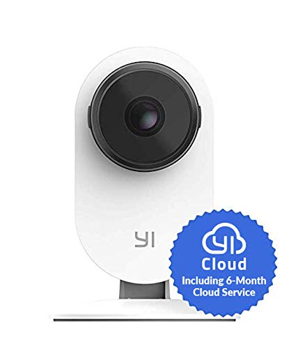 YI Smart Home Camera 3, AI-Powered 1080p Security Surveillance System Indoor House Cam with Human Detection, 2.4G Wi-Fi, Two-Way Audio, App for Baby Nanny Pet Dog Monitor - 6-Month Free Cloud Service
