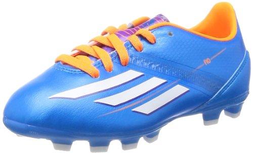 Adidas schoenen nokkenschoenen F10 voetbalschoenen HG hardloopschoen kinderen junior kinderen solblu/runwh, maat Adidas: 30