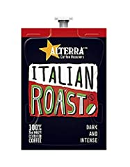 Fresh, convenient single-servings Sealed from light and air to ensure perfect cup every time No cross-contamination for drink purity Bold flavor from luscious blend of dark-roasted beans Works in Flavia Creation 150, Creation 200 and Creation 500