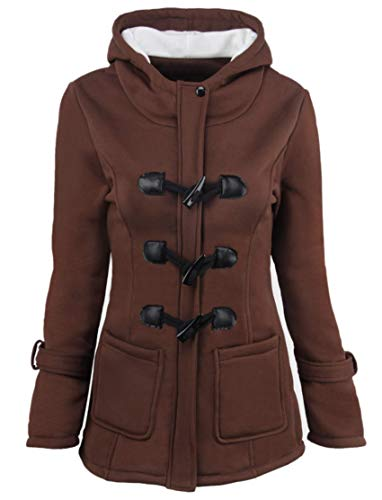 anYanZiBaiH - Radsport-Jacken für Mädchen in Brown, Größe 4XL