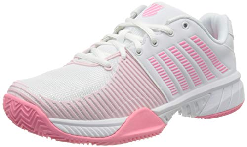 Dunlop Herren KS TFW Express Light 2 HB-WHT BLSHING M Sneaker, White/pink/Blushing Bride, 41.5 EU