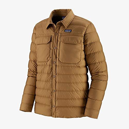 PATAGONIA M's Silent Down Shirt Jkt Giacca Uomo, Uomo, giacca, 27925_M, Marrone (nest brown), M