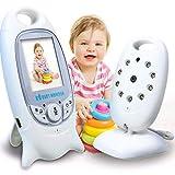 MRXUE Monitor de bebé Pantalla portátil de Dos vías intercomunicador de Voz...
