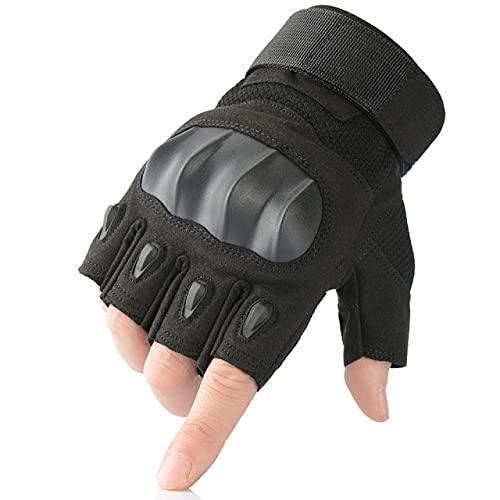 Touchscreen PU-leer Motorfiets Vingerhandschoenen Beschermende kleding RacingFietsen Motorrijden Motor Moto Motocross Enduro-a56-L