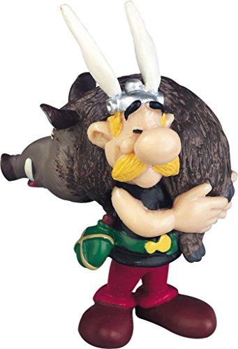 Plastoy SAS PLA60545 - Sammelfiguren, Figur Asterix mit Wildschwein