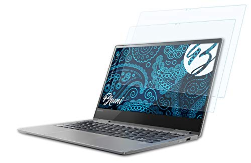 Bruni Schutzfolie kompatibel mit Lenovo Yoga 720 13 inch Folie, glasklare Bildschirmschutzfolie (2X)