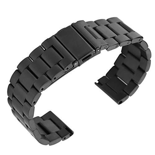 Correa de Reloj, Correa de Reloj de Acero Inoxidable Correa de Reloj con Herramientas compatibles con el Reloj Samsungs Gear S3s/S2s/Galaxys