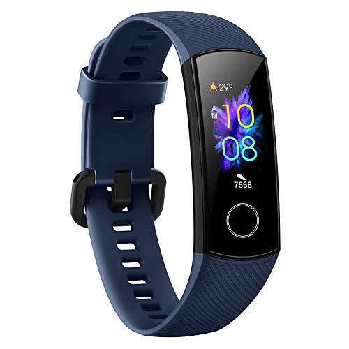 """Honor Band 5 Fitness Tracker Smartwatch Impermeabile 50M 0,95\"""" Schermo AMOLED a Colori pedometro e notifiche di messaggistica Smartband (Blu)"""