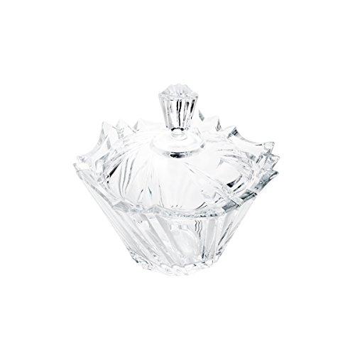 Bomboniére de Cristal com Tampa Ikaro Rojemac Transparente Cristal