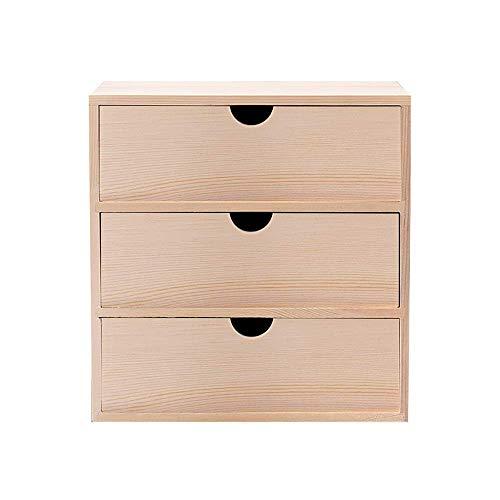 Organizador de escritorio Organizador de escritorio de madera Multifuncional Organizador de escritorio de bambú Organizador de almacenamiento de bambú Pantalla de estantería para suministros de oficin