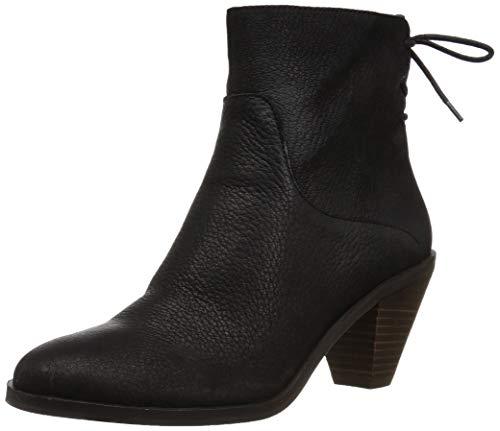 Lucky Brand Women's LK-JALIE Ankle Boot, Black, 10 M US