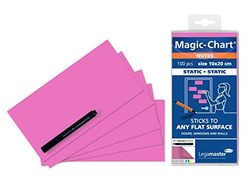 Legamaster Magic-Chart Notes 10x10cm 100 stuks Pink-P