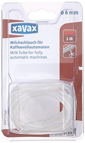 Xavax Milchschlauch für Kaffeevollautomaten, ø 6 mm