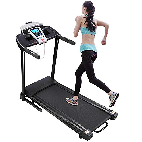 Find Bargain Isaa Miilne Electric Treadmill Motorized Running Machine Fitness Exercise Folding Cardi...