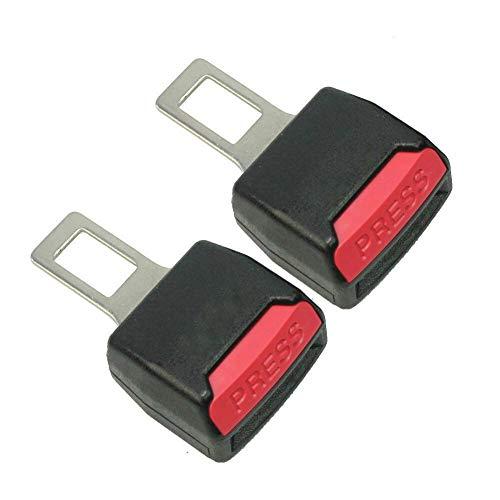 Disattivatore dell'allarme della cintura di sicurezza per la cintura di sicurezza, Disattiva allarme, Nero CONFESIONE 2 PEZZI