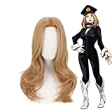My Hero Academia Camie Utsushimi Cosplay Wig Boku No Hero Academia Blonde Brown Long Curly Synthetic Hair Wigs + Wig Cap 1385