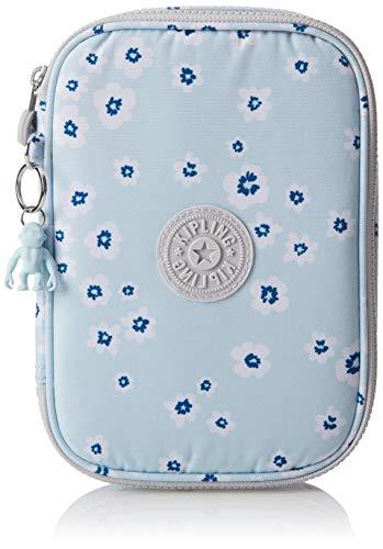 Kipling Damen 100 Pens Case Kosmetik-Necessaire, Ozean-Blumenmuster, Einheitsgröße