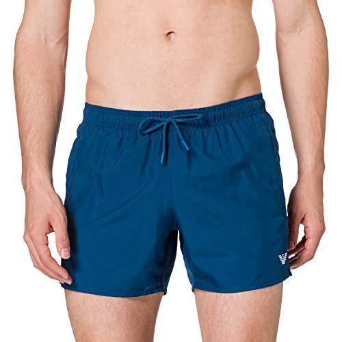 Emporio Armani Swimwear Boxer Essential Swim Trunks, Nero, 3XL Uomo