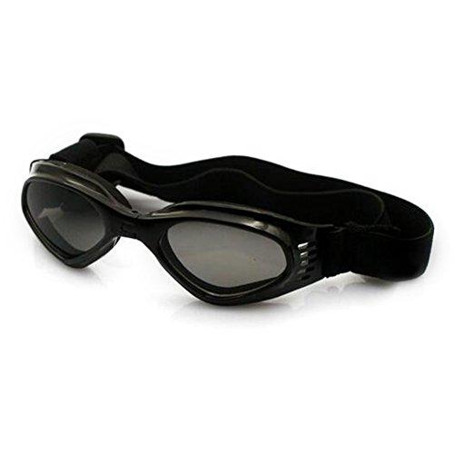 Lunettes de Protection UV Lunettes de Soleil pour Chien Noir