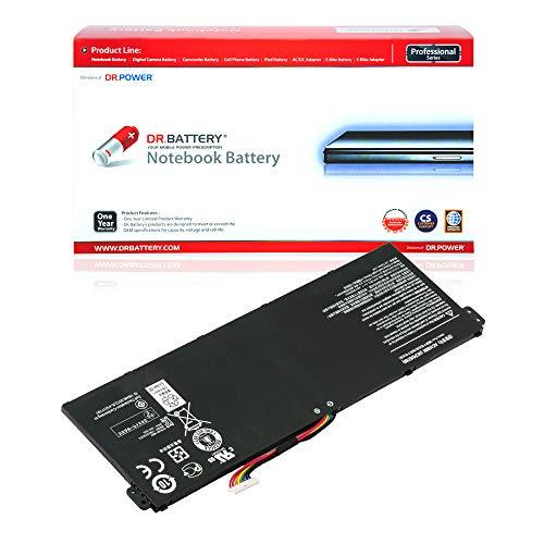 Dr. Battery Laptop Battery for Acer AC14B8K Aspire E3-111 E3-112 E3-112M E5-771 E5-771G ES1-311 ES1-421 ES1-511 ES1-512 ES1-711 V3-371 AC14B3K AC14B8J KT.00403.027 [15.2V/2200mAh/33Wh]