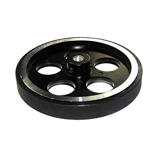 perfk Roboter / Auto Chassis Reifen Rad mit Flegen, Tragfähigkeit: 50-100kg